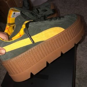 FENTY PUMA CREEPERS. SIZE 7.5. NEW WITH BOX.